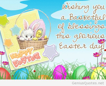 Funny Easter pic quote