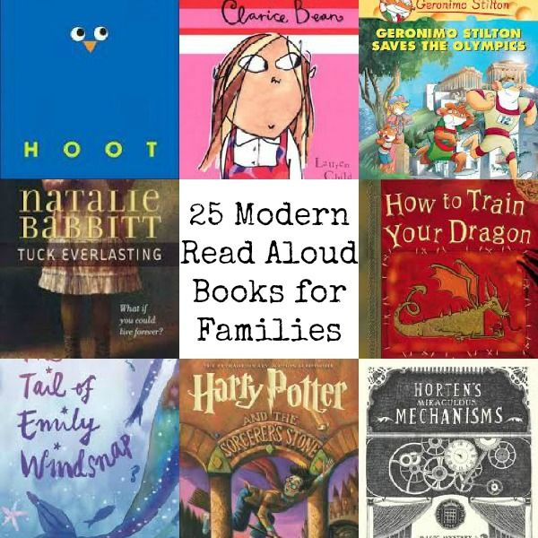 25 Modern Read Aloud Books for the Whole Family. I…