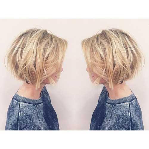 Auffällige Neue Kurze Bob Frisuren Bob Hairstyles Pinterest