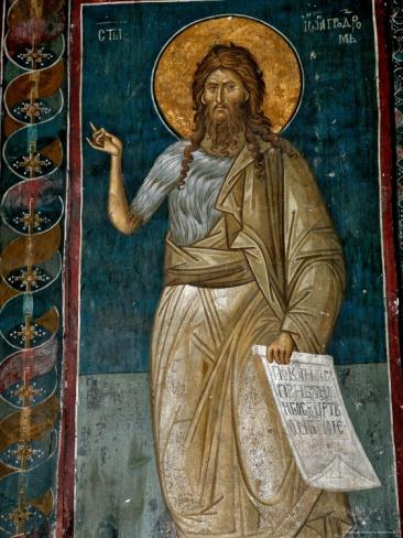 Frescoes in 14th Century Visoki Decani Monastery, Kosovo and Metohija, Serbia Photographic Print by Russell Gordon at Art.com