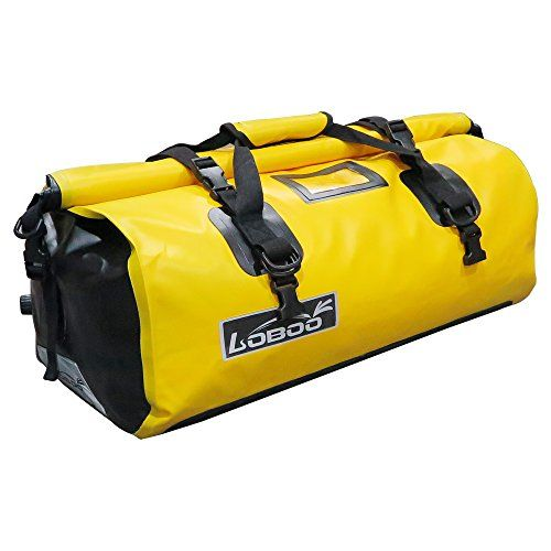 Loboo 66L Waterproof Bag Expedition Dry Duffel Bag Motorcycle Luggage For Travel ,Sports, Cycling,Hiking,Camping(Large,Yellow) - https://www.buy-accessories.net/shop/all-accessories/loboo-66l-waterproof-bag-expedition-dry-duffel-bag-motorcycle-luggage-for-travel-sports-cyclinghikingcampinglargeyellow/