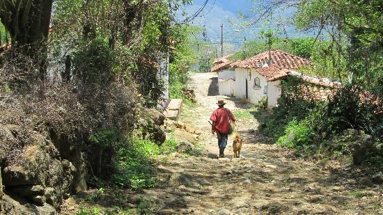 Barichara, Colombia: cammino real