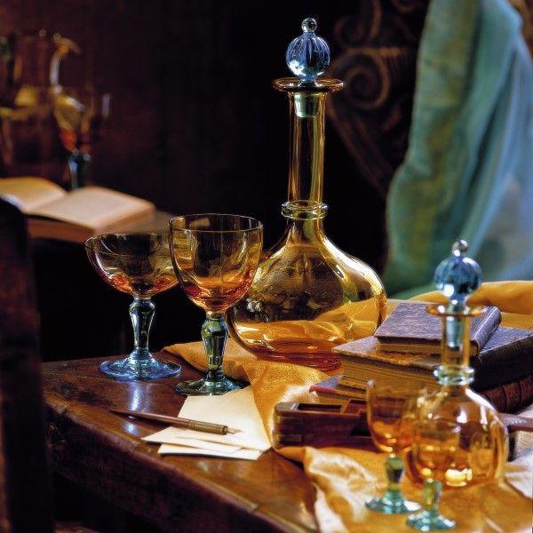 復刻版・文豪ジョルジュ・サンド愛用のロマンティック様式グラス