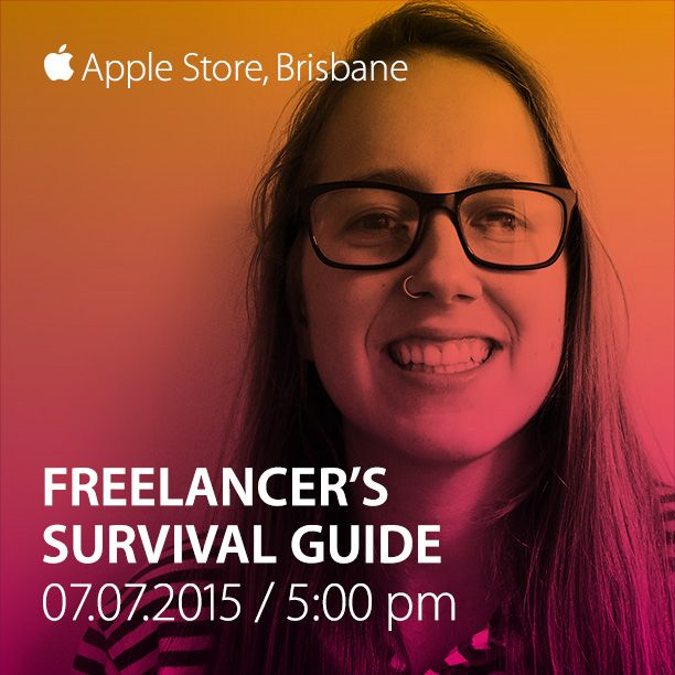 Tuesday evening, come along to the Apple Store for a chilled panel event about work and life.