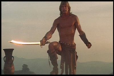 Marc Singer Beastmaster by craftychrissychris, via Flickr.....I'm ashamed at how many times I've watched this movie!!