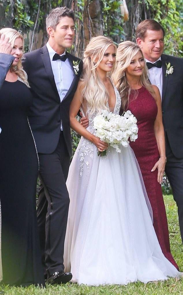 Arie Luyendyk Jr Lauren Burnham Wedding Elegant Wedding Gowns Celebrity Weddings Wedding Dresses