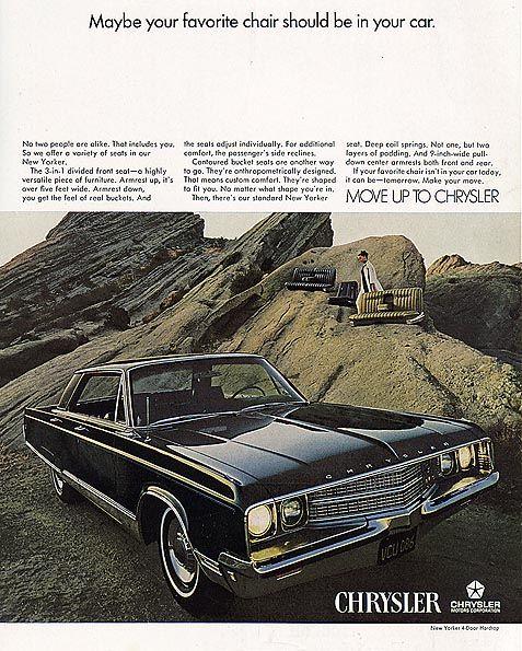 1968 Chrysler New Yorker Four Door Hardtop