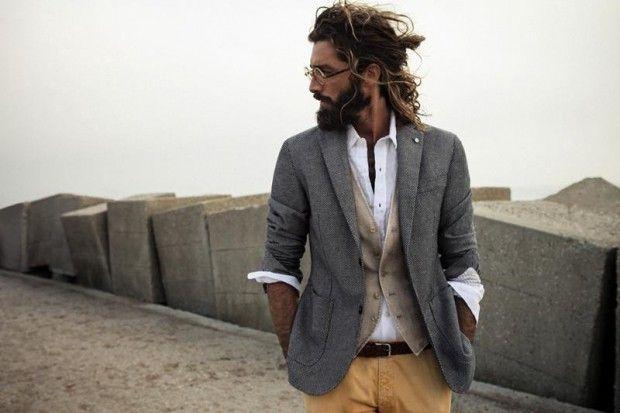 16 Awesome taglio capelli uomo lunghi lisci