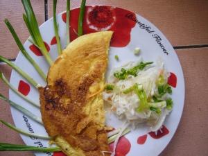 scrambled eggs recipe with ramson