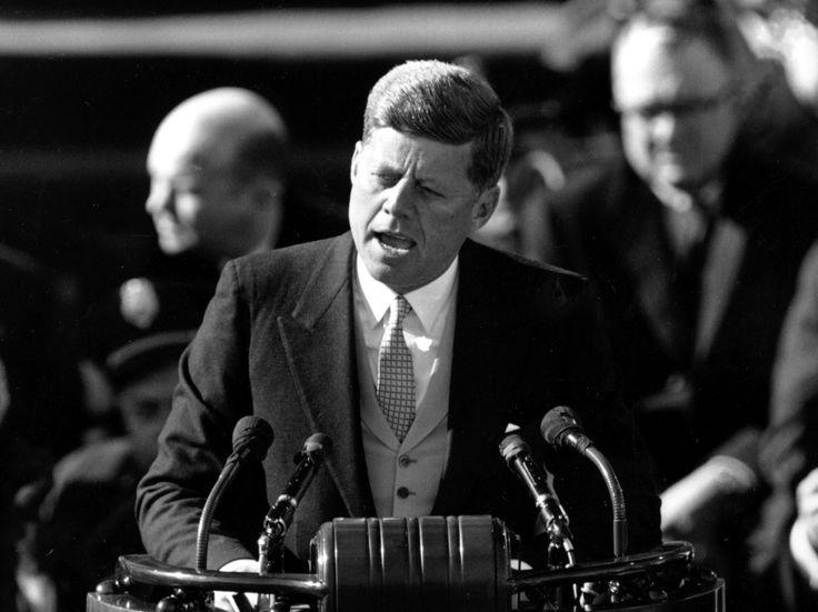 Remembering #JFK by rewatching his inaugural address. #JFK50