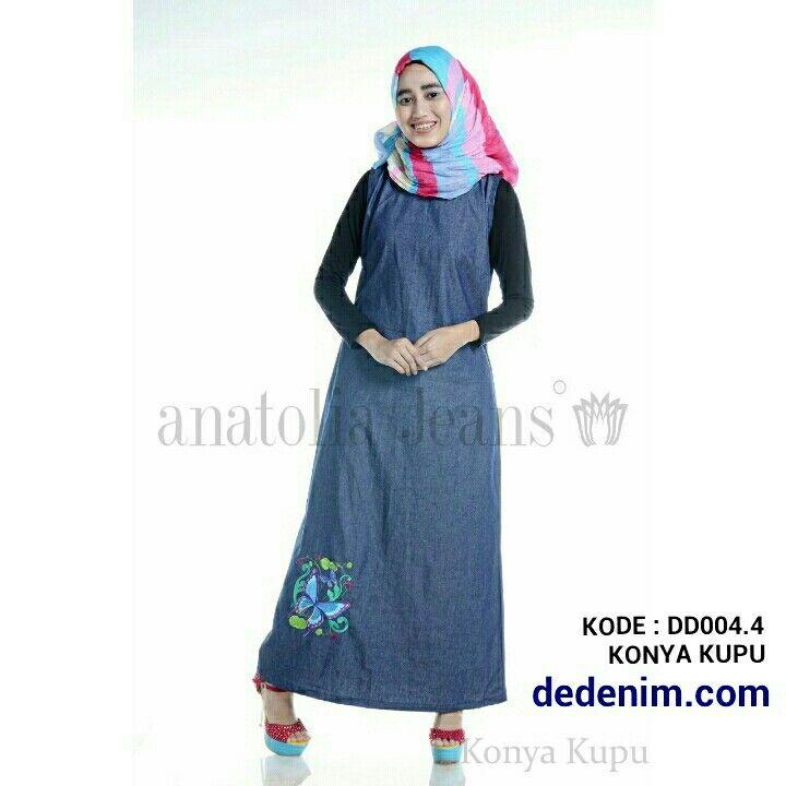Konya merupakan model terbaru berbahan Denim otentik lembut, Konya merupakan Denim dengan Bordir model Kupu Kupu dan indah dengan kualitas bordir terbaik, casual, simple, dan feminim.   Size : S/M/L/XL/XXL  untuk order silakan ketik : nama-alamat lengkap-kode barang-size-nomer hp kirim ke 081903773006.    #dedenimdotcom #denim #jeans #dress #gamis #kemeja #blouse #woman #onlineshop #olshop #goodOOTD #hijab