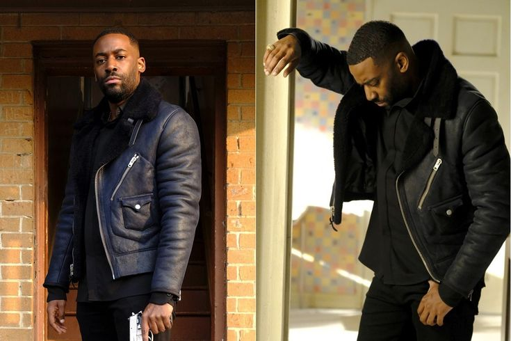 Ashley Thomas 24 Legacy Isaac Carter Leather Jacket Now Available in our Store.