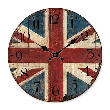 Euro Country Wall Clock - CAD $ 44.84