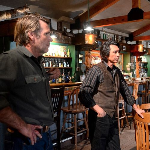 Walt Longmire & Henry Standing Bear @ The Red Pony. I admit it, these are the standouts in my fantasy league.