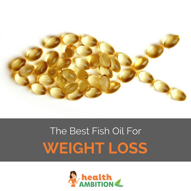 fish oil good for weight loss