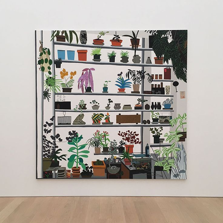 Sharing lots of peeks from our visit to the Jonas Wood exhibit in museum Voorlinden in Wassenaar. Not to be missed if you love art and plants!