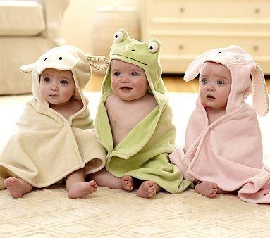 Follow us on Facebook: https://www.facebook.com/westfieldvalleyfair    #kids: Babies, Children, Kids, Critter Wrap, Towels, Bath Time