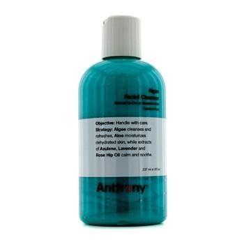 Logistics For Men Algae Facial Cleanser (Normal To Dry Skin) - 237ml-8oz