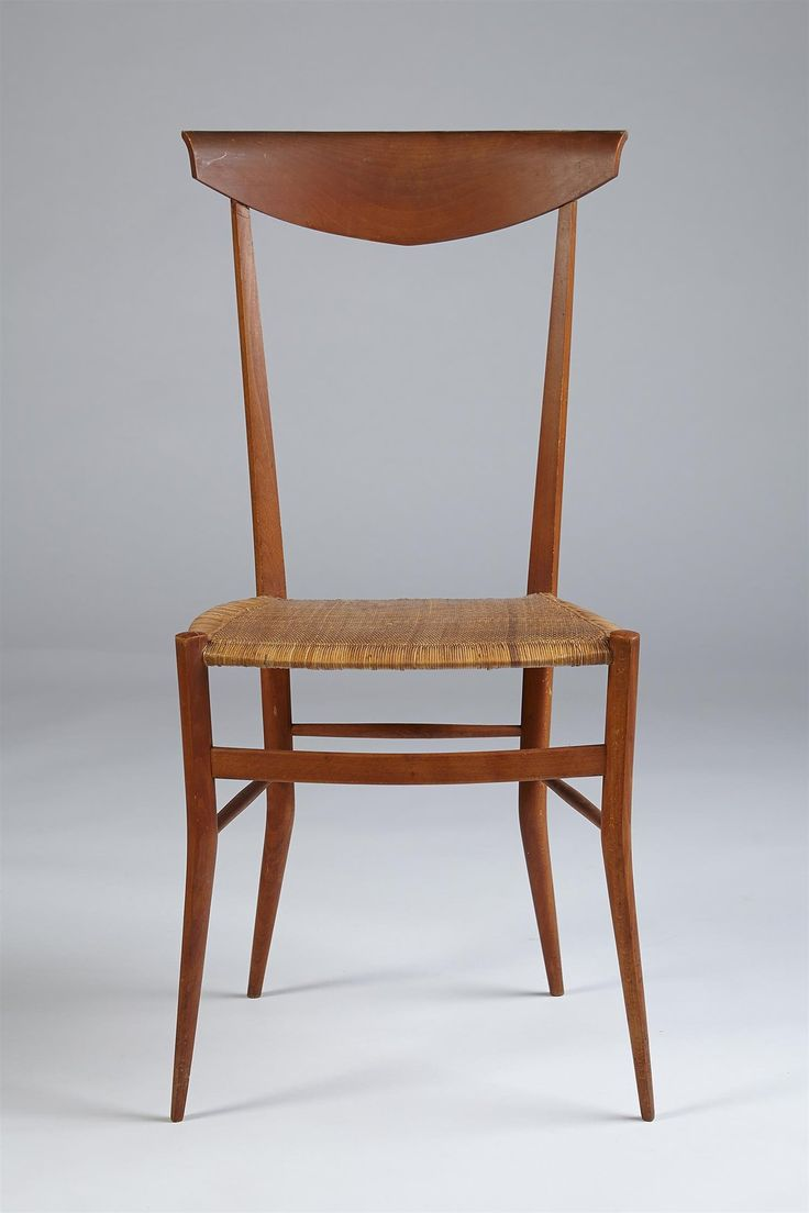 Colombo sanguinetti pear wood and cane 39chiavari39 chair for Cane chairs design