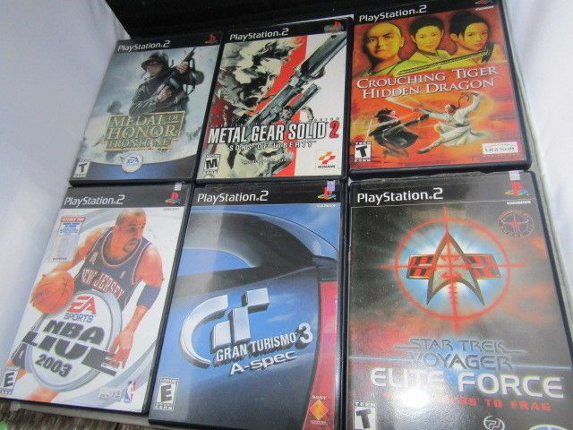 Playstation 2 PS2 Lot Medal of Honor Star Trek Grand Turismo 3 NBA 6 games  | Video Games & Consoles, Video Games | eBay!