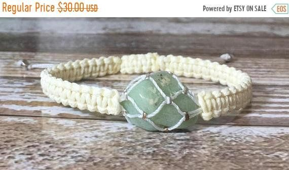 Sale Raw Crystal Bracelet Amazonite Bracelet Chakra Energy