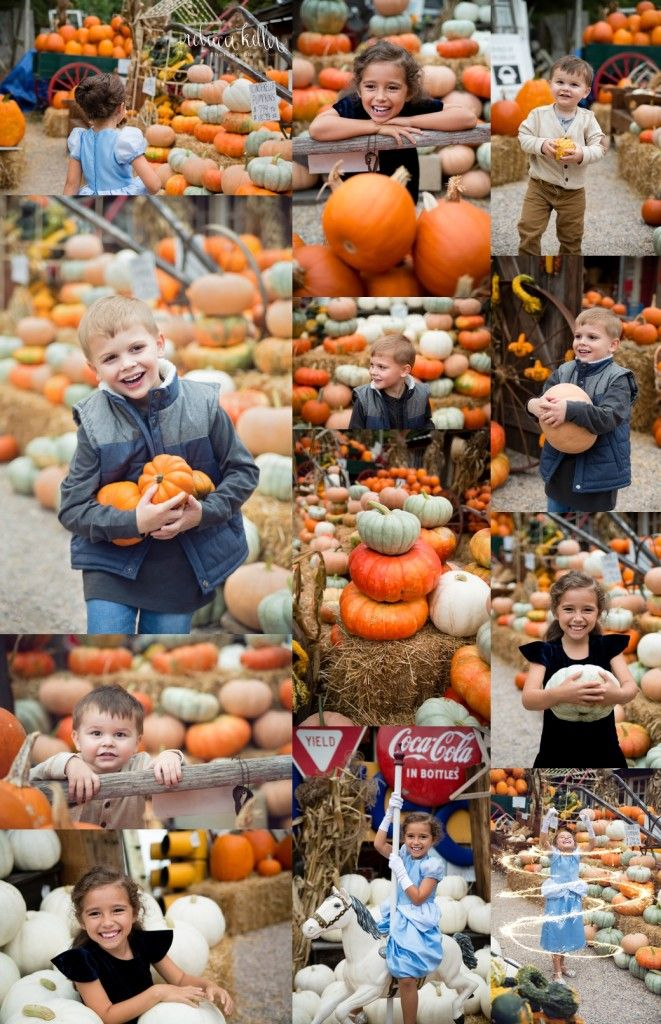 Cinderella at the pumpkin patch. Pumpkin patch photography. Raleigh Family Photographer. Rebecca Keller Photography. Styled by Little Apple Styles
