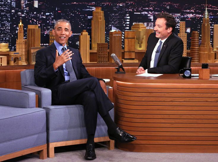 The Tonight Show with Jimmy Fallon from Barack Obama's Coolest Pop Culture…