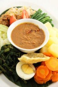 Malaysian Indonesian Food. Kuah Kacang. Satay (Saté) Sauce. Peanut Sauce