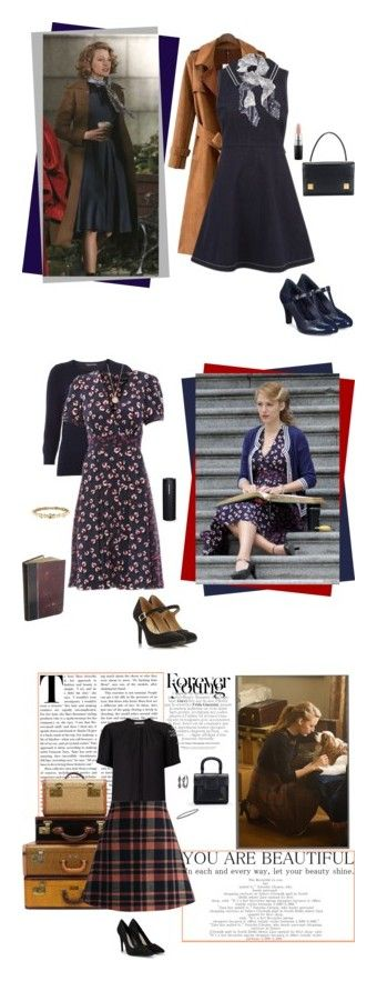"""""""The Age Of Adaline"""" by serendipitylife1 ❤ liked on Polyvore featuring Chicnova Fashion, RED Valentino, Giani Bernini, MAC Cosmetics, AgeofAdaline, Dorothy Perkins, Gucci, Chanel, Astley Clarke and John Lewis"""