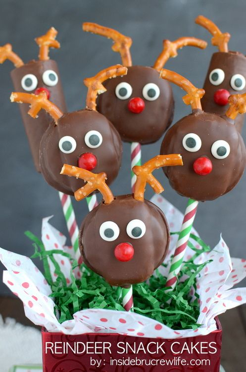 ❄️Reindeer Snack Cakes | Inside BruCrew Life @Mary Beth Parker BruCrew Life