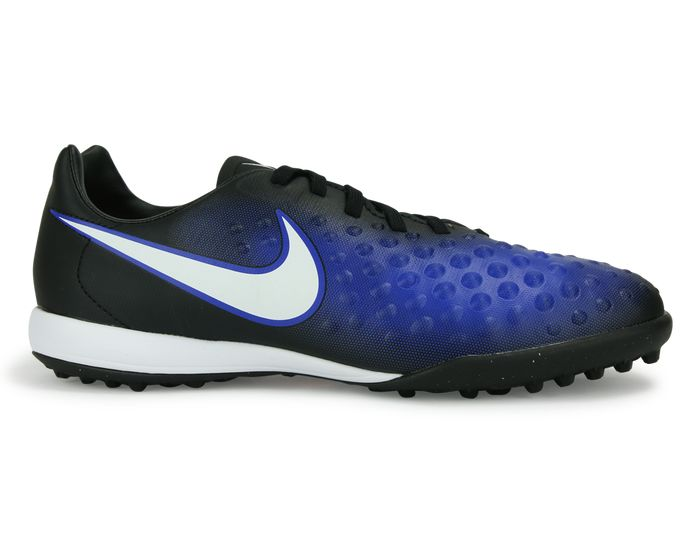 Nike Kids MagistaX Opus Turf Soccer Shoes Black/White/Paramount Blue