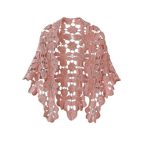 Newport-News: Women's Clothing, Sportswear, Shoes, Jeans, Special Sizes, and more | Crochet shawl found on Polyvore