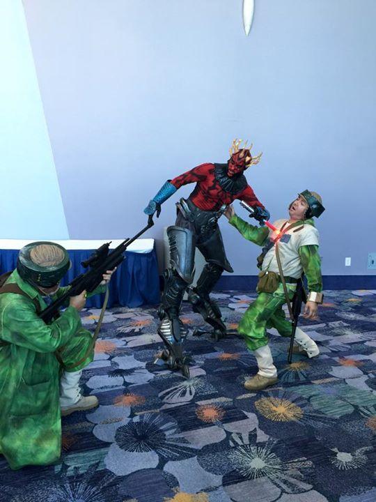This Clone Wars Darth Maul Cosplay Killed At Star Wars Celebration