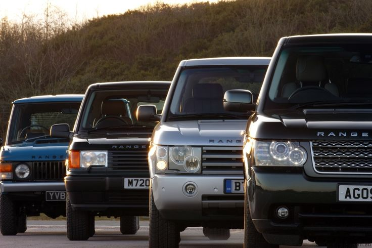 The history of Range Rovers.