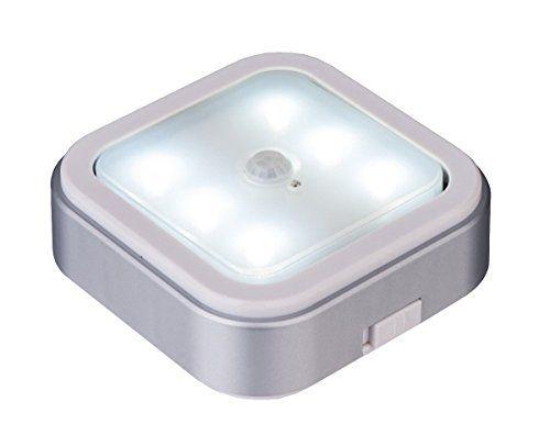 led motion sensor light battery operated indoor from. Black Bedroom Furniture Sets. Home Design Ideas