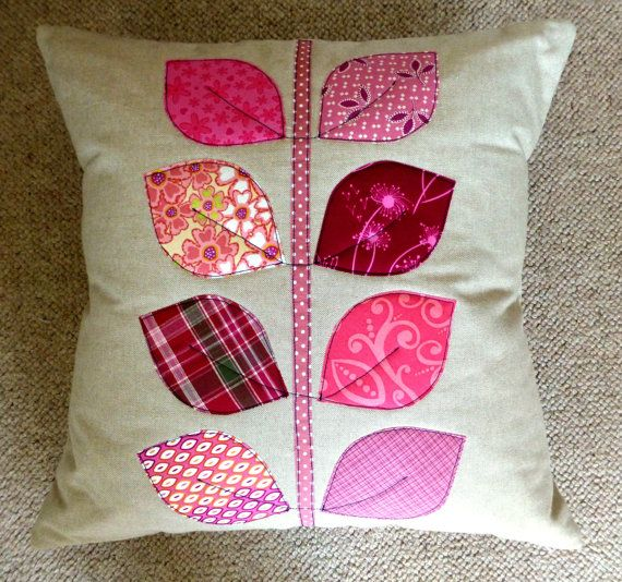 PDF Pattern: Applique Quilted Cushions Level by JustJudeDesigns