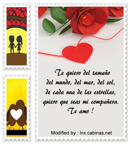 palabras originales de amor para mi pareja,textos bonitos de amor para whatsapp : http://lnx.cabinas.net/tiernos-mensajes-para-decirle-cuanto-la-quiero/