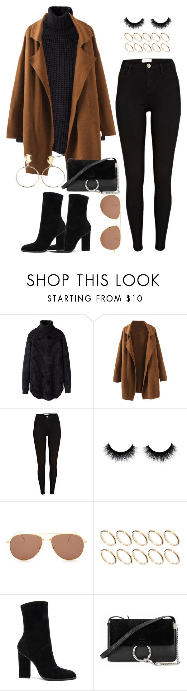 """Untitled #56"" by amanda-thoresson ❤ liked on Polyvore featuring Hope, River Island, Illesteva, ASOS, Alexander Wang and Chloé"