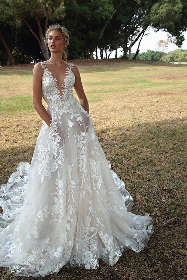 5 traumhafte Brautkleider von Galia Lahav für die Winter Wonderland Bride #purewow …   – Tryin to get hitched