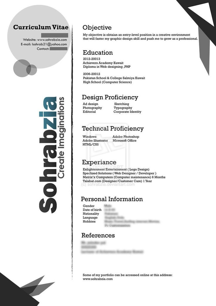 13 best Templates CV images on Pinterest Curriculum, Resume and - entry level web developer resume