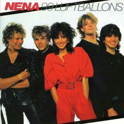 3rd March 1984, Nena started a three week run at No.1 on the UK singles chart with '99 Red Balloons.' Originally sung in German, '99 Luftballons' was re-recorded in English as '99 Red Balloons'. The song was a No.2 hit in the US and the only UK hit for Nena making her a One Hit Wonder. More on One Hit Wonders: http://www.thisdayinmusic.com/pages/one_hit_wonder