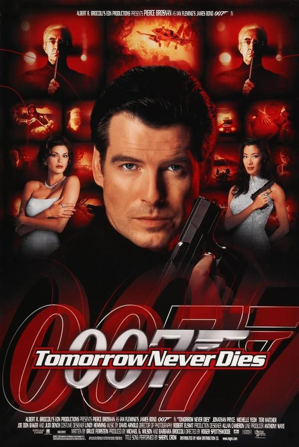 Tomorrow Never Dies 1997 James Bond Movie Posters Bond Movies
