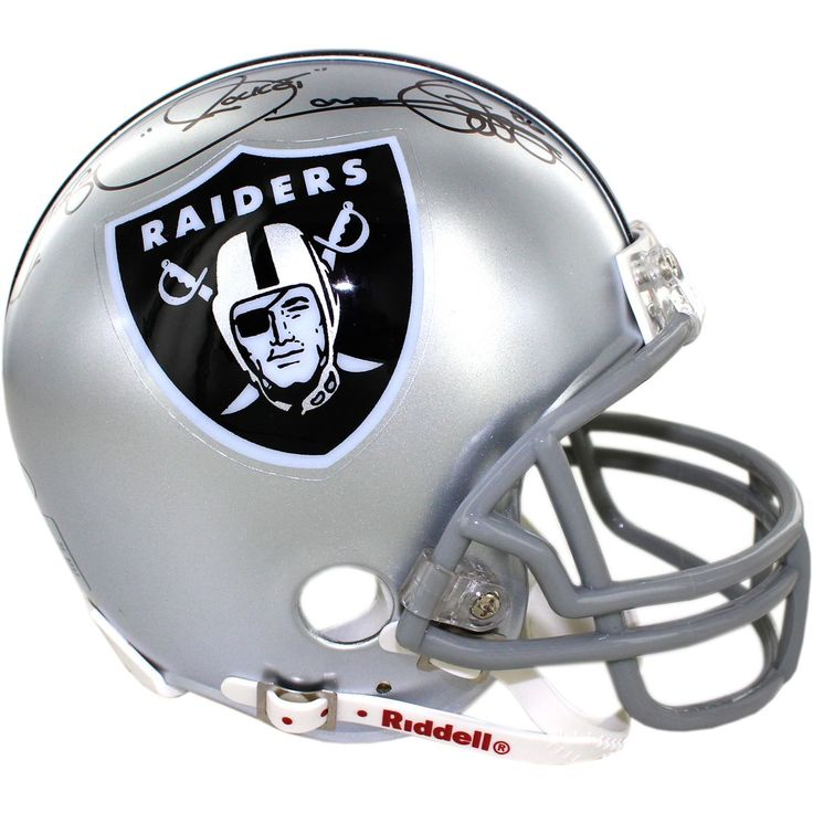 Steiner Rocket Ismail Signed Oakland Raiders Mini Helemt