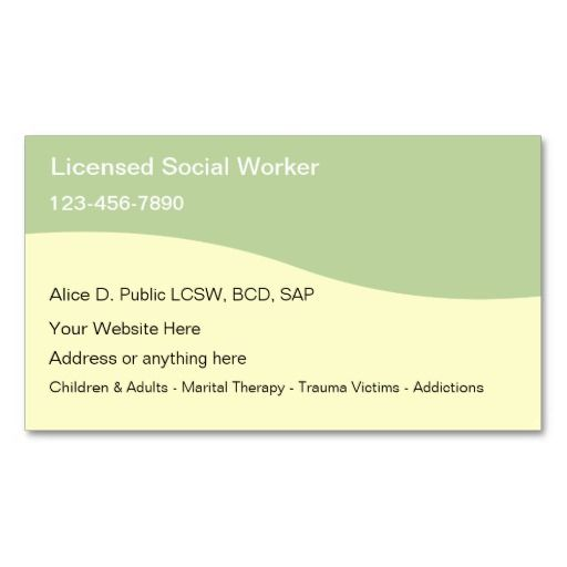 128 best images about social worker business cards on pinterest trees business card templates. Black Bedroom Furniture Sets. Home Design Ideas