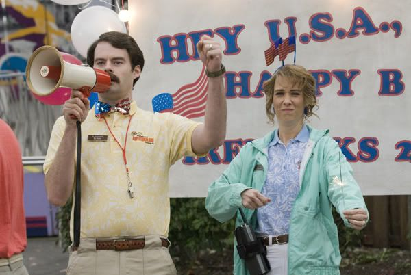 Bill Hader & Kristen Wiig in Adventureland