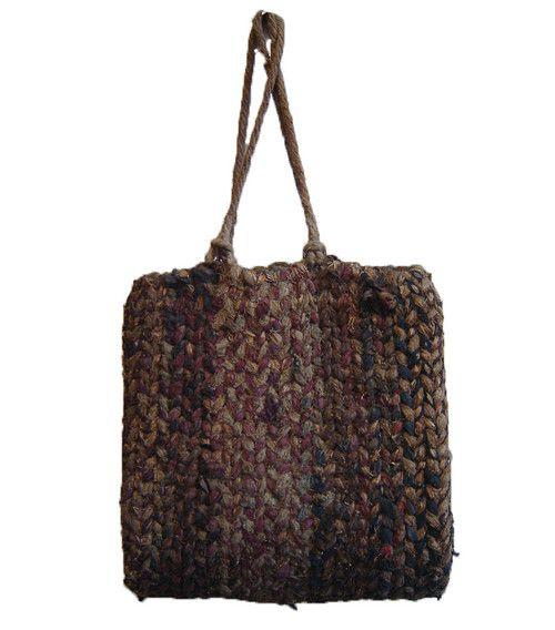 scourtneybarnes: из Шри, деревенской соломы 1930-х и крученого хлопчатобумажный мешок