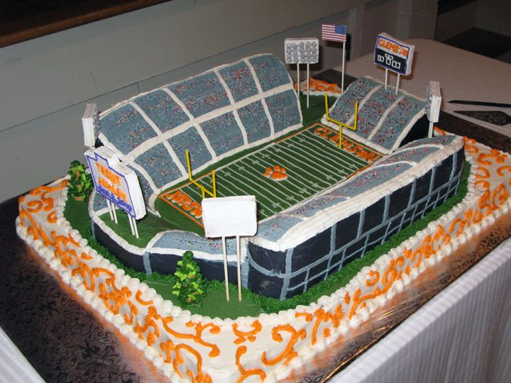 33 Best Images About Stadium Cakes On Pinterest Birthday