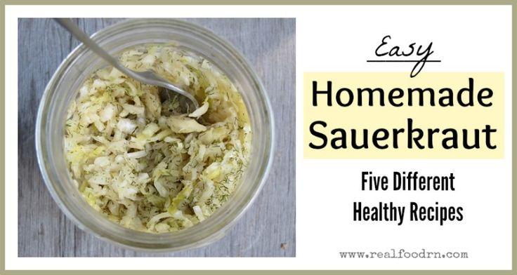 Easy Sauerkraut Recipes - Real Food RN