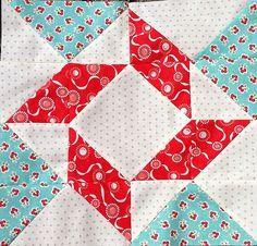 Half square triangles.