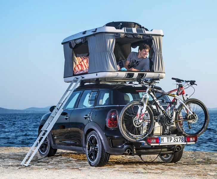 MINI Unveils Three of the World's Tiniest Luxury Campers